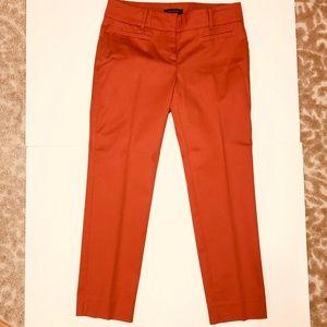 Ann Taylor Coral Capri Pants